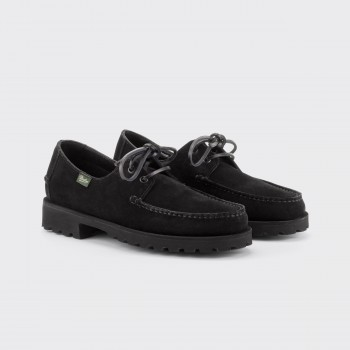 "Arpenteur x Paraboot ""Domingue"" Camp Shoes : Black"