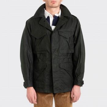 D-43 Waxed Jacket : Olive