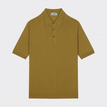 Polo Manches Courtes Coton : Moutarde