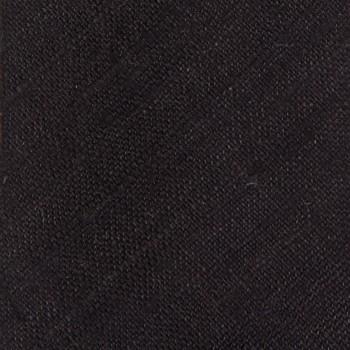Cravate Soie Tussah : Marron Foncé