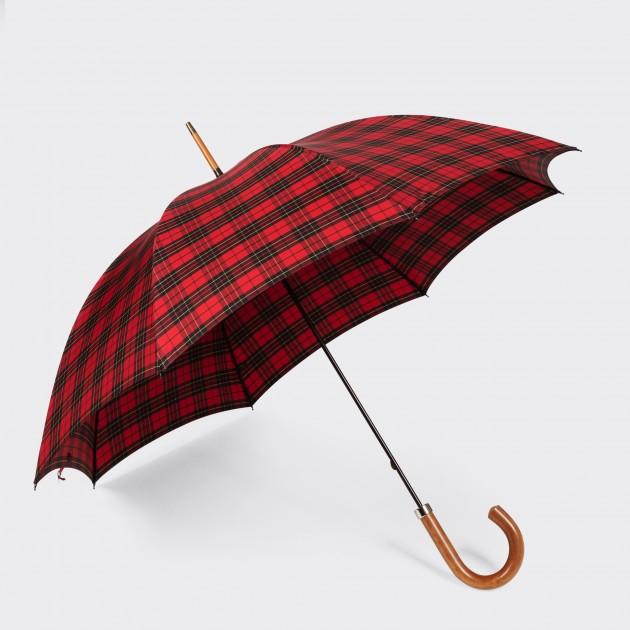Parapluie Malacca: Stewart Tartan