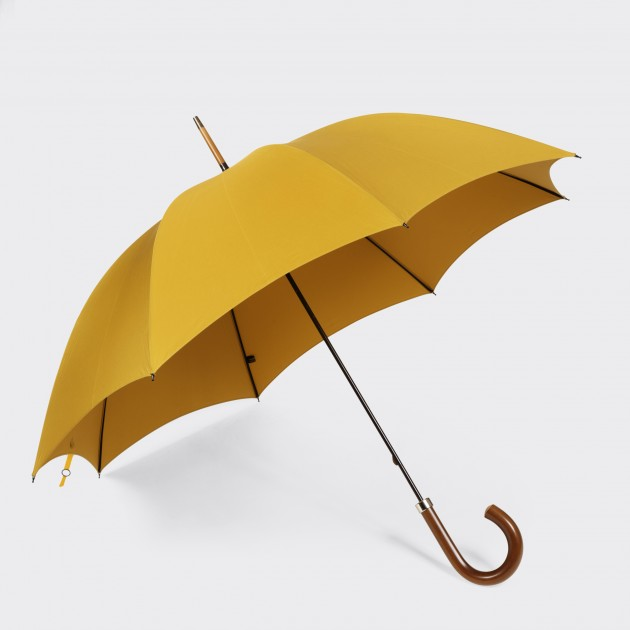 Parapluie Malacca: Moutarde