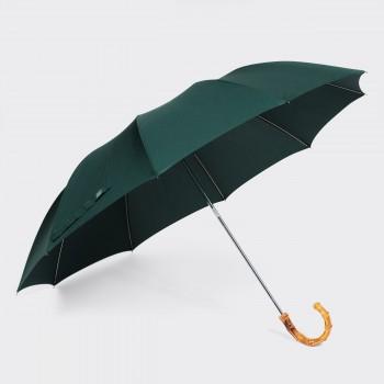 Parapluie Télescopique Bambou : Vert Foncé