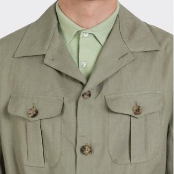 Safari Jacket Lin : Vert Clair
