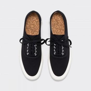 """Chaussures de Sport """"Oxford"""": Noir/Blanc"""