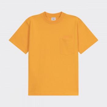 T-shirt Poche: Jaune
