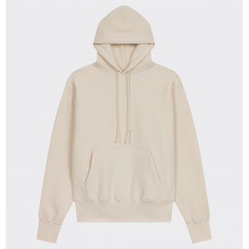 Hooded Sweatshirt : Ecru