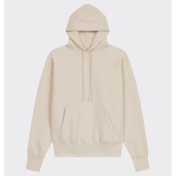 Sweatshirt Capuche : Ecru