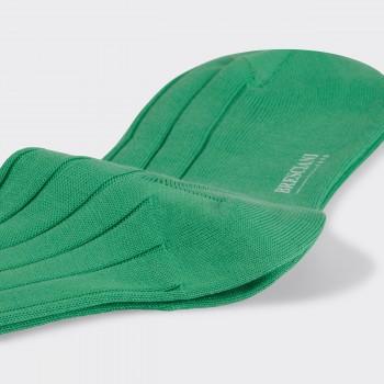 Chaussettes Courtes Coton: Vert Menthe