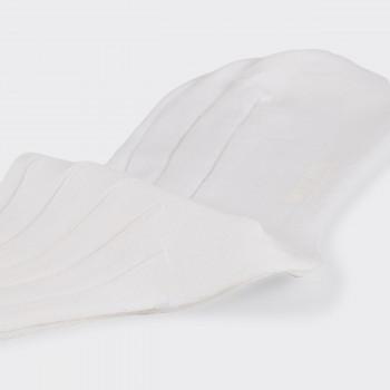 Chaussettes Courtes Coton: Blanc