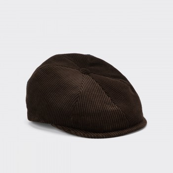 Donegal « 6 Panels » Corduroy : Brown