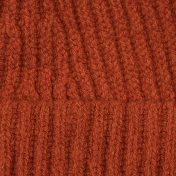 Bonnet Laine Mérinos : Orange