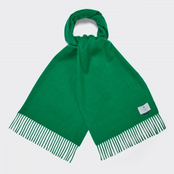 Cashmere Scarf : Kelly Green