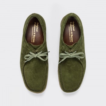 Wallabees Suede : Beige