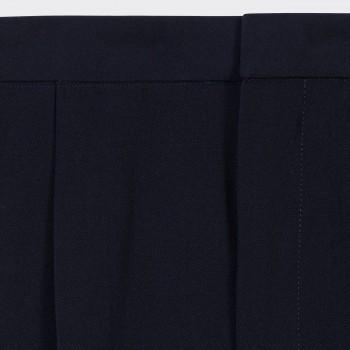 «Easy Pants» Twill de Laine: Marine
