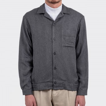 """Shirt-Jacket"" Chevrons : Gris"