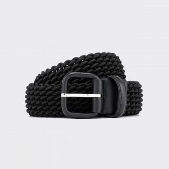 Woven Elastic Belt : Black