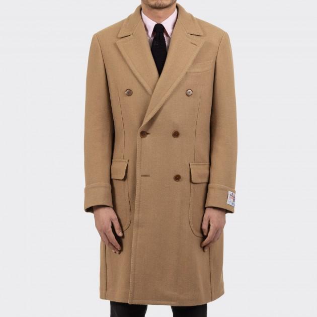Polo Coat : Camel