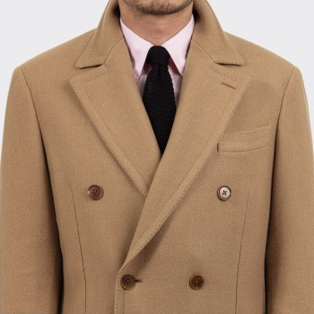 Polo Coat : Camel