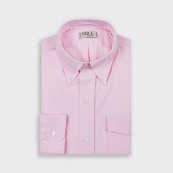 """Flap Pocket """"OCBD"""" Shirt : Pink"""