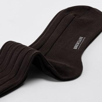 Coton Short Socks : Coffee