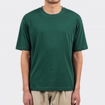 T-shirt Coton & Soie: Vert Anglais