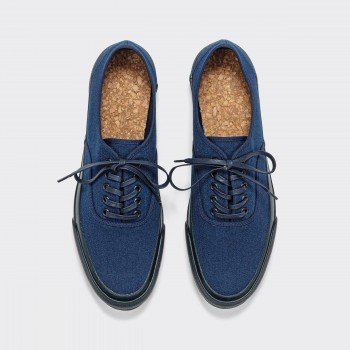 Oxford Shoe : Navy