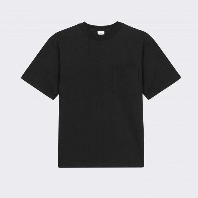 T-shirt Poche : Noir