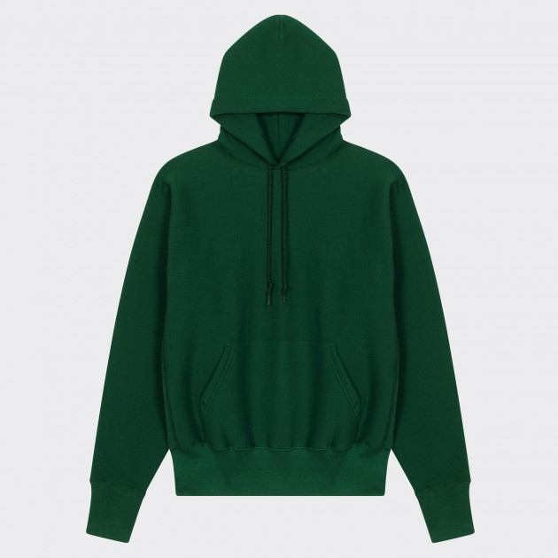 Hooded Sweatshirt : Green