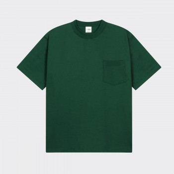 Pocket T-shirt : Dartmouth Green