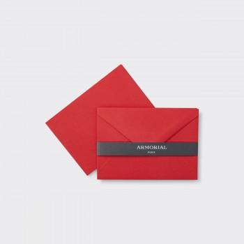 Cartes Et Enveloppes Assorties : Rouge
