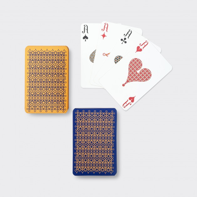 Jeux de Cartes: Jaune/Bleu