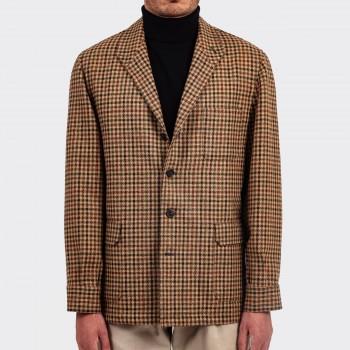 Teba Jacket « Lovat » Tweed : Beige/Marron