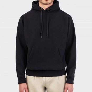 Hooded Sweatshirt: Black