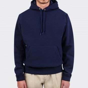 Hooded Sweatshirt: Navy