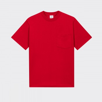 Pocket T-shirt : Red
