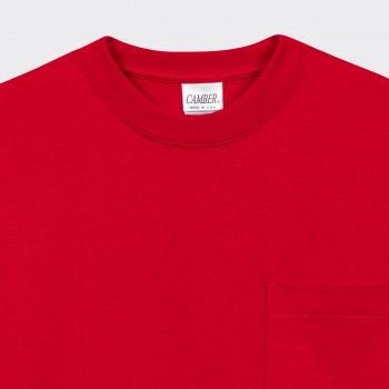 Pocket T-shirt: Red