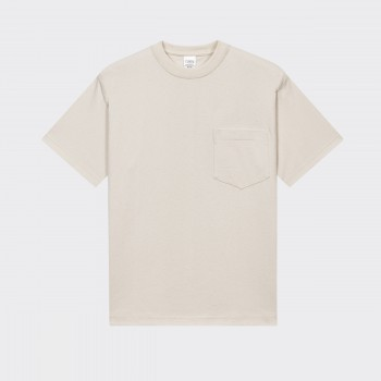 Pocket T-shirt : Ecru