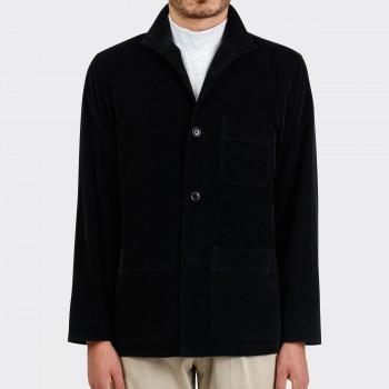 Needlecord Chore Jacket : Black