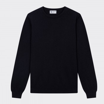 Cashmere Crewneck Sweater : Navy