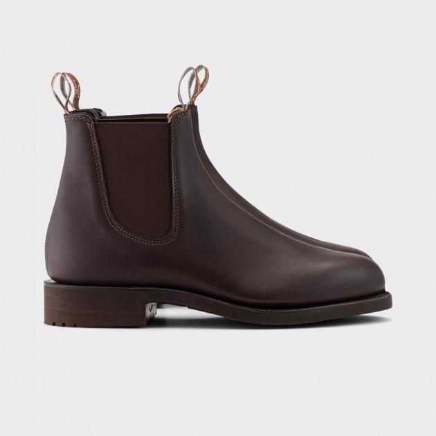 Chelsea Boots Gardener : Marron