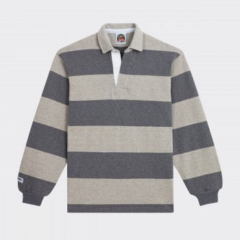 Polo Rugby : Gris/Gris Clair