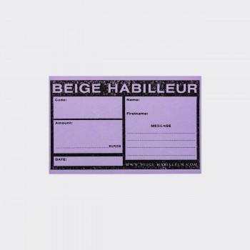 Gift Card : Lavender