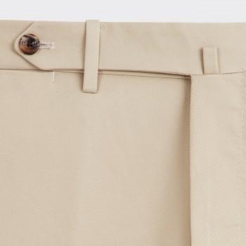 Pantalon en Twill : Beige