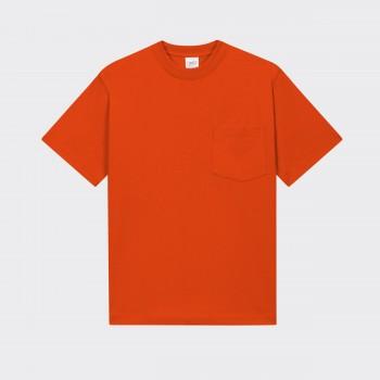 T-shirt Poche: Orange
