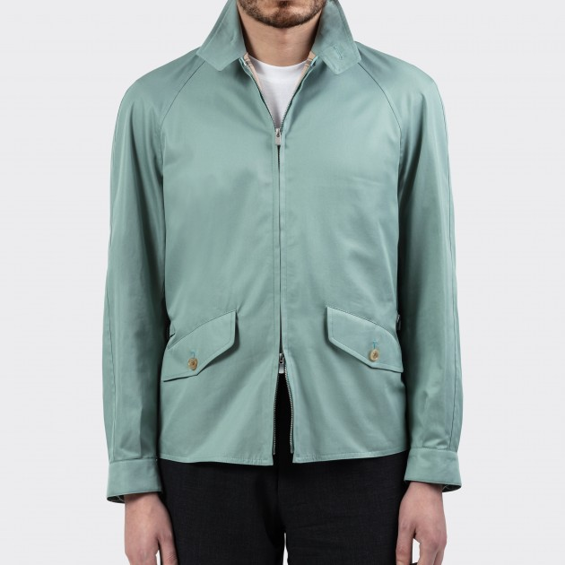 Golfer Jacket : Sea Green