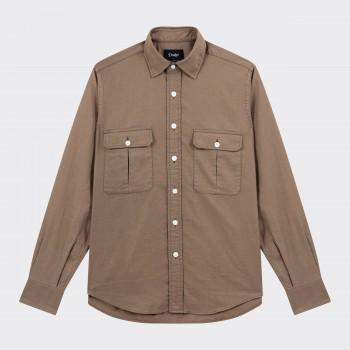 Chemise de Travail 2 poches : Taupe