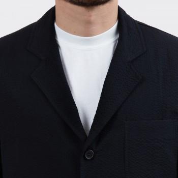 "Sofá Jacket ""Solbiati"" Seersucker : Noir"