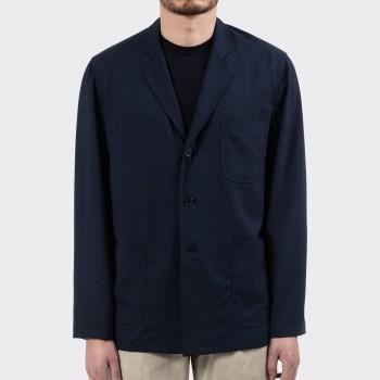 """Sofá Jacket """"Nikke"""" Laine d'Été : Marine/Bleu/Vert"""