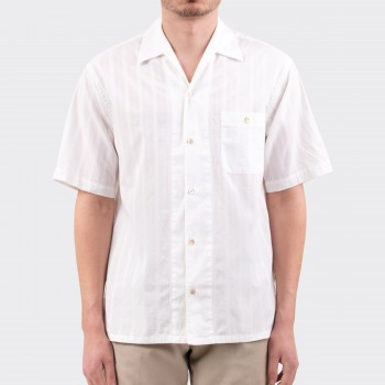 Chemise Col Requin : Blanc